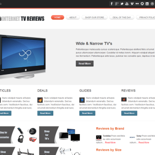 Internet Tv Review Site